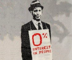 MHA: 0% interest in people