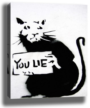 YOU LIE (CC-Banksy)