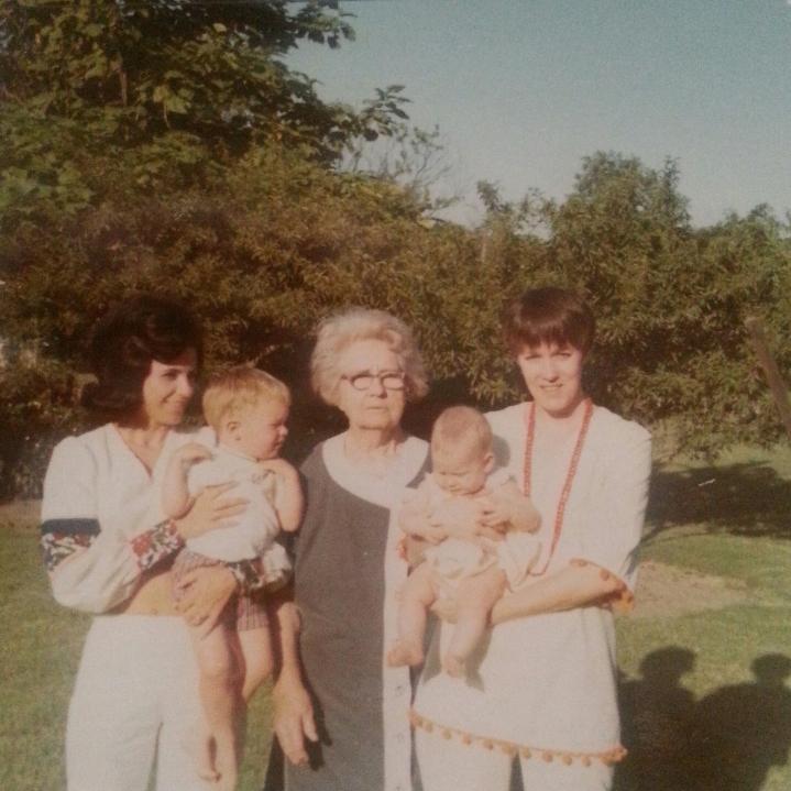 mom grandmother Caddo