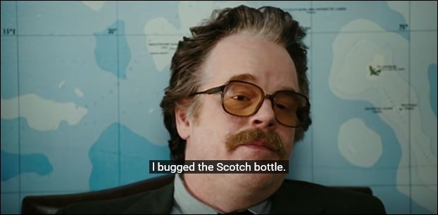 dont be an idiot. i bugged the scotch.