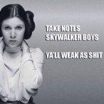 Take notes, Skywalker Boys