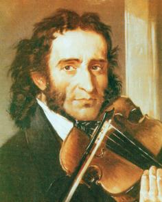 Paganini and his violin