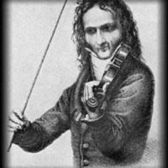 Early sketch of Paganini