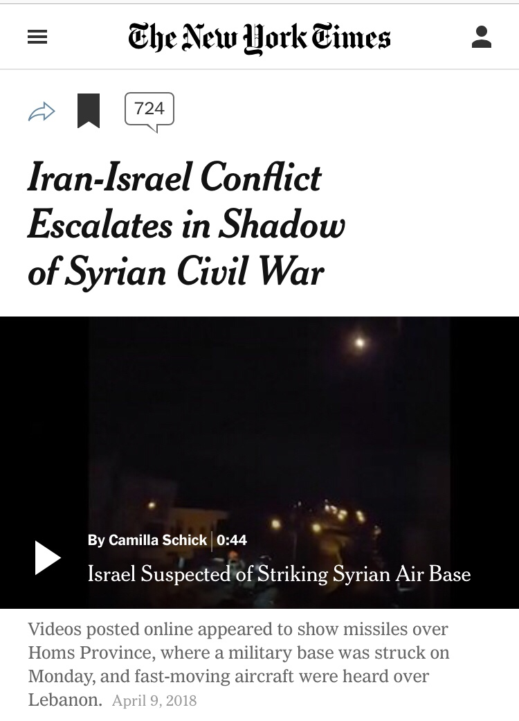 Iran-Israel Conflict Escalates in Shadow of Syrian Civil War