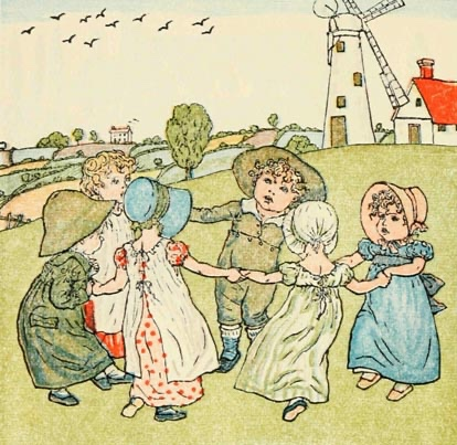 Five London Nursery Rhymes Depicting Death And Ruin