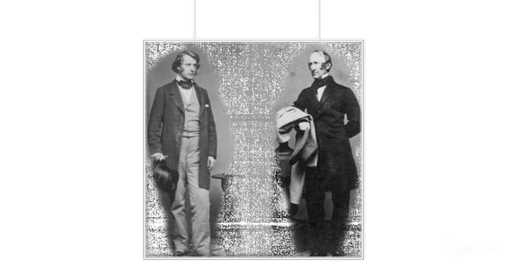Left: CHARLES SUMNER, leader of the Radical Republicans in Congress who pressed for emancipation from the outset of the Civil War. (Chicago History Museum, ICHi-52582) ✦ Right: WENDELL PHILLIPS, the celebrated abolitionist orator and Lincoln's frequent critic, who met with Lincoln in March 1862 to argue the case for emancipation. (Chicago History Museum, ICHi-52581)